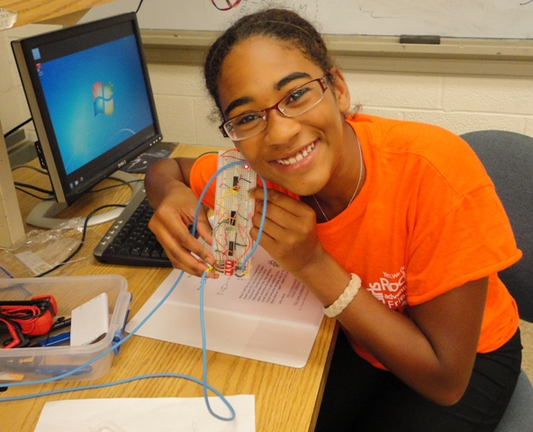 Students learn engineering at U. Illinois GAMES camp