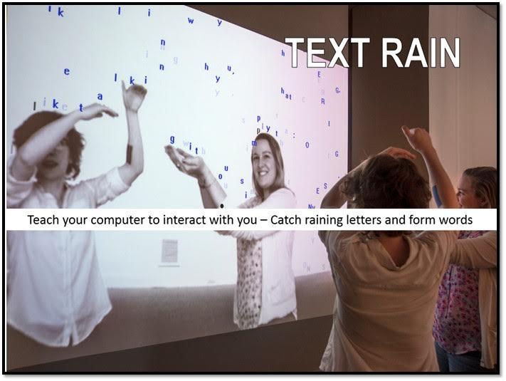 Text Rain image